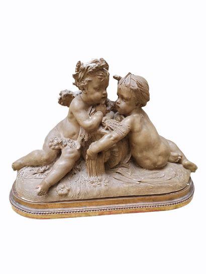 CARRIER Auguste Joseph (1800-1875)  Deux...