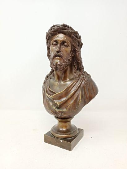 BULIO Jean (1827-1911)  Christ à la couronne...
