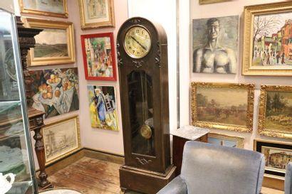 Pendule de parquet de style Art Nouveau en...