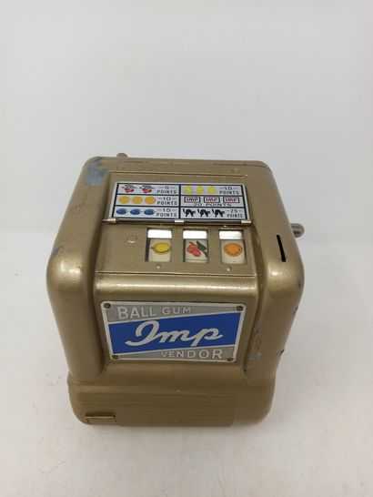 IMP Ball Gum Vendor jeu de comptoir distributeur...