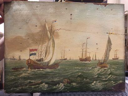 ECOLE HOLLANDAISE  Dans le Goût du XVIIe...