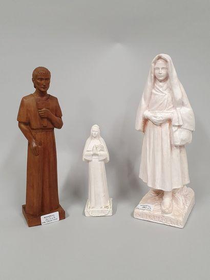 HARTMANN Jacques (1908-1994)  Sainte Bernadette...