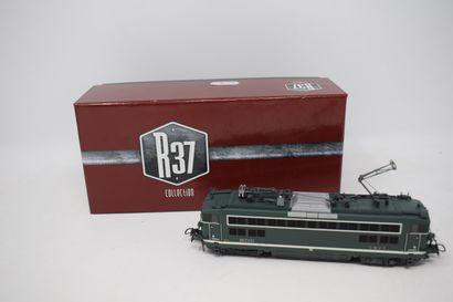 REE MODELS - R 37 : Draisine DU 65 SM 471 SUD EST, réf. MB 073 S -  Motrice BB 25537...