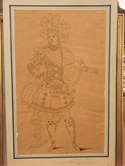 BERAIN Jean (D'après)  1640 - 1711  ...