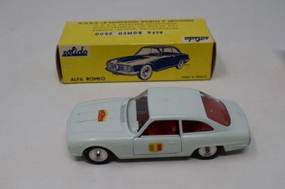 "TEKNO - SOLIDO - MEBETOYS - DINKY TOYS : MERCEDES 300 SL, réf. 924 - JAGUAR ""E""..."