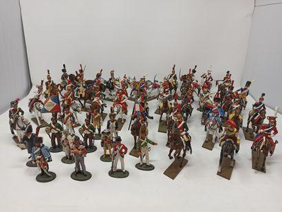 DELPRADO et divers : Lot de soldats et figurines...