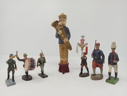 ELASTOLIN et divers : Armée allemande, 2ème...