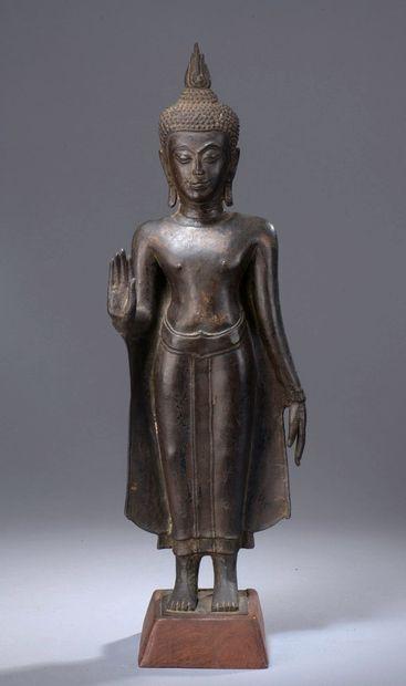 THAILANDE - XVIIe/XVIIIe siècle  Statuette...