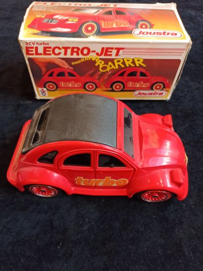 JOUSTRA : 2 CV Turbo ELECTRO-JET (bo mauvais...