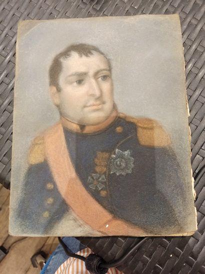 ECOLE FRANCAISE du XIXe siècle  Napoléon...