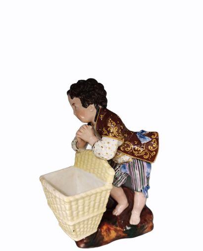 JACOB PETIT  Le petit vendangeur priant ...