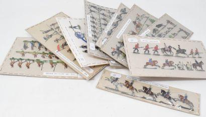 HEINRICHSEN - ALLGEYER : Plats d'Etain : Vingt planches constituées avec concours...