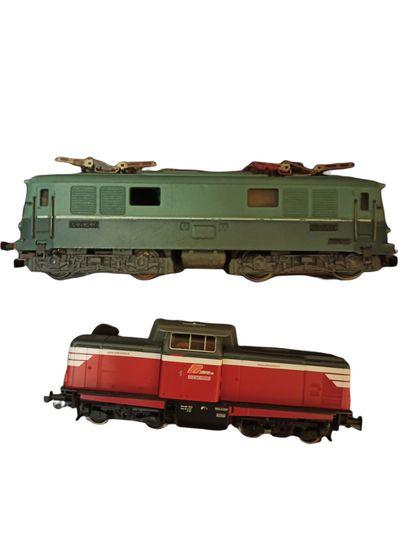 VB - ROCO : Motrice BB 9001 SNCF - Motrice...