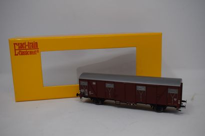 PIKO - JOUEF - EXACT-TRAIN CLASSIC : Motrice diesel BB 60000 FRET SNCF - 2 wagons...