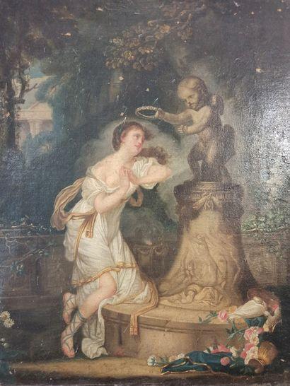 D'après Jean Baptiste GREUZE (1725-1805)...
