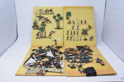 CBG et divers ½ Ronde Bosse : guerres coloniales...