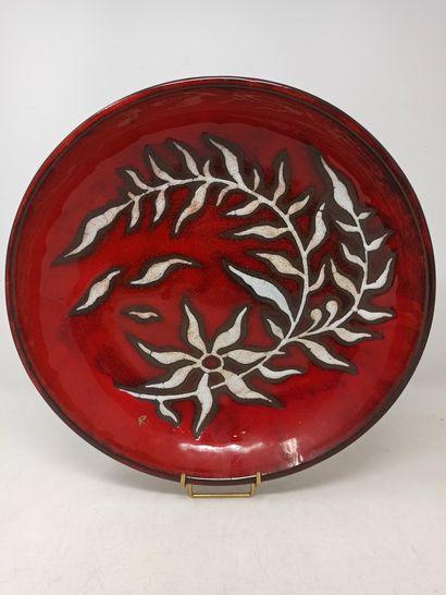 ROIS DE MAJORQUE (XX)  Plat creux en céramique...