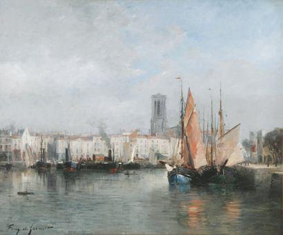 ALBERT TIBULE FURCY de LAVAULT 1847 - 1915