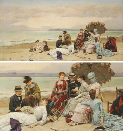 JULIUS LEBLANC STEWART 1855 - 1919