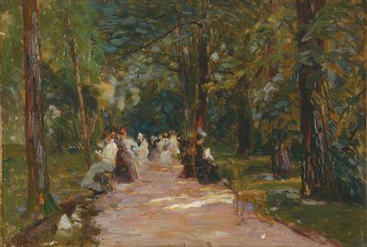 ÉLIE ANATOLE PAVIL 1873 - 1948