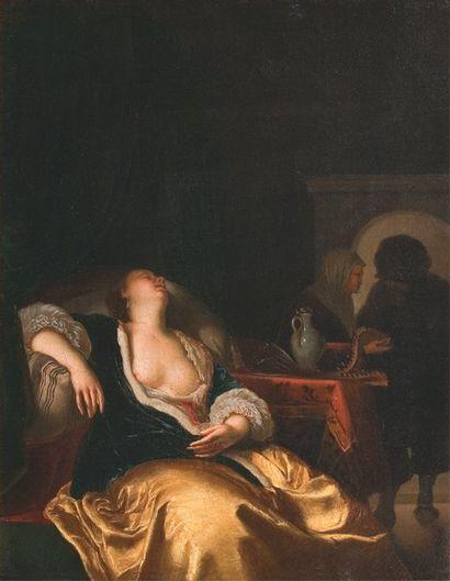 MIERIS Franz van (Ecole de) Leyde 1635 - 1681