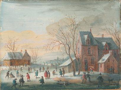 Attribué à Henri-Joseph van BLARENBERGHE (1741 - 1826)