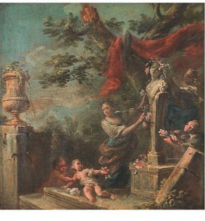 École FRANÇAISE du XVIIIe siècle,