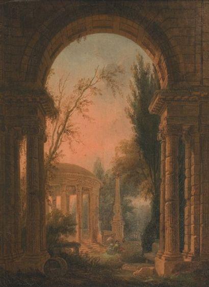 LALLEMAND Jean -Baptiste (Attribué à) (Dijon vers 1710 -Paris 1803)