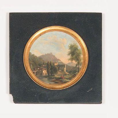 Attribué à Jean-Victor BERTIN (1767 - 1842)
