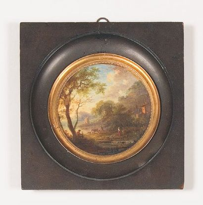 Attribué à Jean HOUEL (1735 - 1813)