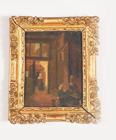 École HOLLANDAISE du XIXe siècle,