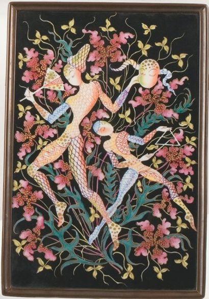Camille LE TALLEC, PARIS, dessin de E. ZWIAUER,...