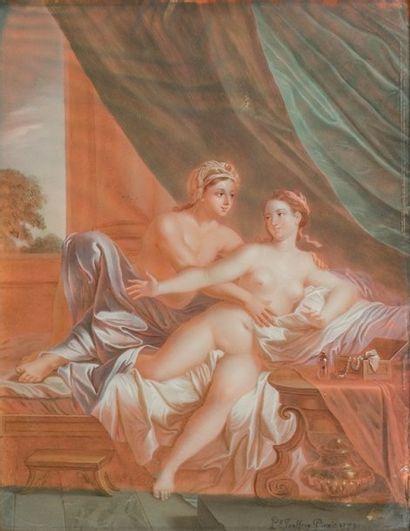 Ecole FRANCAISE, 1759, P***JOUFFROY ***
