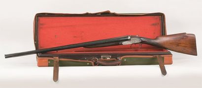 Fusil de chasse PURDEY à canons juxtaposés,...