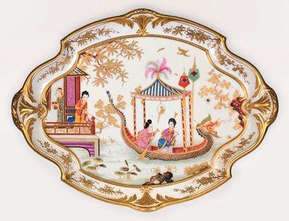 SEVRES, manufacture royale, porcelaine dure,...