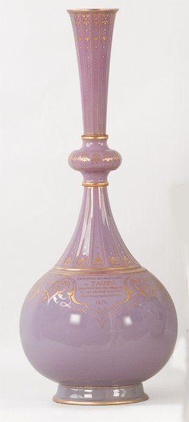 SEVRES, manufacture nationale. Vase Delhi,...