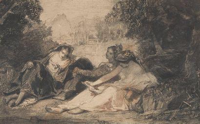 Narcisse Virgile DIAZ DE LA PENA, 1807-1876