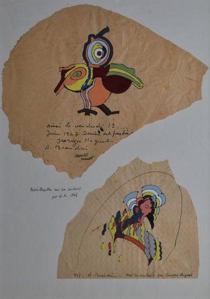 BEAUDIN André, 1895-1979 et HUGNET Georges, 1904-1974