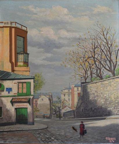 CARIO Louis, 1889-1941