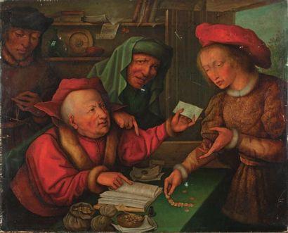 École FLAMANDE (Dans le Goût de la première Moitié du XVIe siècle)
