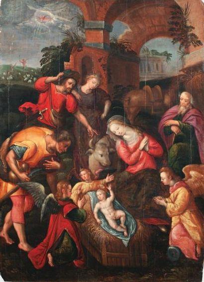 École FLAMANDE - Seconde moitié du XVIe siècle