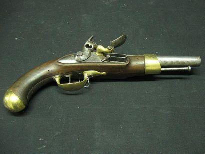 Pistolet de cavalerie à silex modèle 1816....