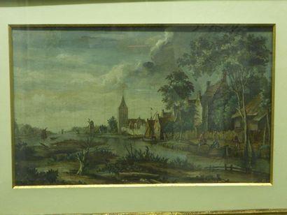 École HOLLANDAISE - Première moitié du XIXe siècle
