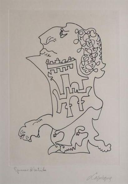 LAPICQUE Charles, 1898 -1988