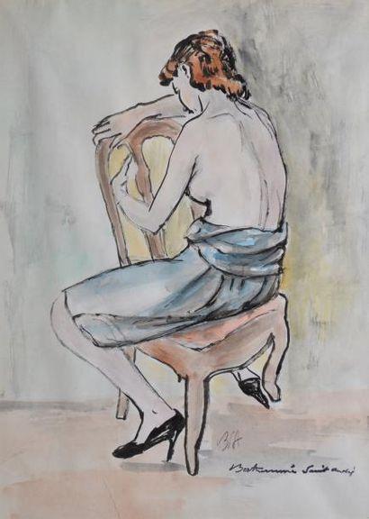BERTHOMMÉ-SAINT-ANDRÉ Louis, 1905 -1977