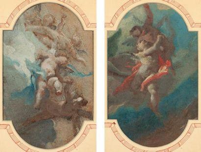 SEGRESTANI Giovanni Camillo (Attribué à) (Florence 1660 -1731)