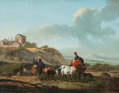 HAMON DUPLESSI Michel (Attribué à) Actif à Versailles à la fin du XVIIIe siècle