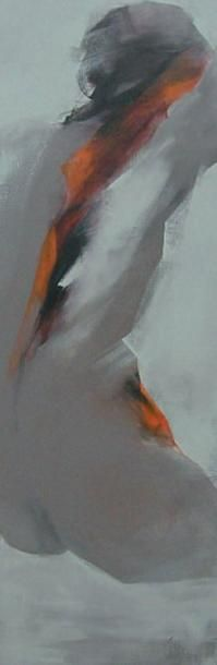 CHAPERON Martine, née en 1953 Naturel Acrylique sur toile, signée en bas à droite,...