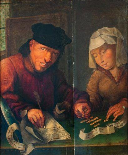 École FLAMANDE (Dans le goût du XVIe siècle)