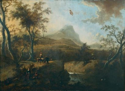 MOUCHERON Frederik de (Emden 1633 - Amsterdam 1686)